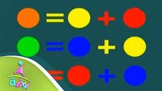 تعليم الألوان   قناة روضة قناة المجد الفضائية