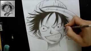 getlinkyoutube.com-TUTORIAL:Como Desenhar Luffy/How To Draw Luffy