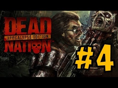 CO-OP Прохождение Dead Nation Apocalypse Edition PS4 - Мочим зомби с Freddy - Ч.4