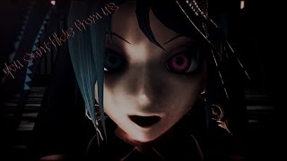 getlinkyoutube.com-[ハロウィーンMMD] You Can't Hide From Us [Calne Ca]
