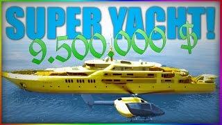 getlinkyoutube.com-Spargem 9.500.000 de DOLARI pe un YACHT de AUR! | GTA 5 Online