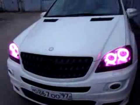 Mercedes Benz ML - LED Tuning - RGB Angel Eyes - exclusive