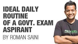 getlinkyoutube.com-(2/2) Ideal Daily Routine of a government exam aspirant/student (UPSC CSE/IAS preparation)