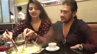 getlinkyoutube.com-Eating Vegetable-Ananta,Barsha