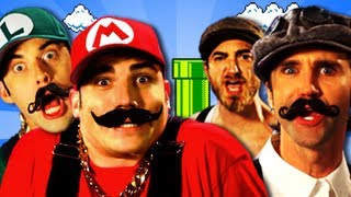 getlinkyoutube.com-Mario Bros vs Wright Bros.  Epic Rap Battles of History Season 2