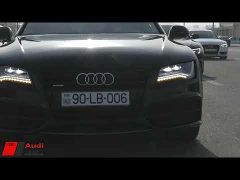 Audi avtomobillerin Baki shousu