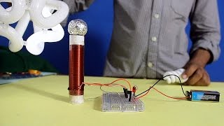 getlinkyoutube.com-How to make Simple Tesla Coil (Urdu)  with English subtitle