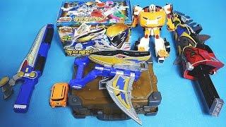 파워레인저 다이노포스 또봇 X 미니 & 가브체인저 오픈박스 장난감  Power Rangers Dino Charge toys