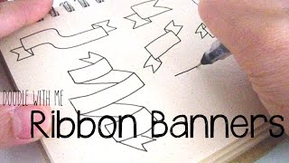 getlinkyoutube.com-Doodle with Me : Ribbon Banners