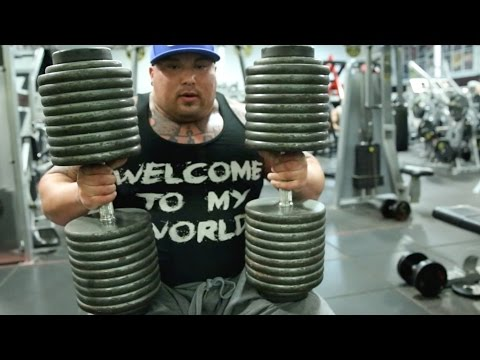 BIG BOY - 200LB DUMBBELLS - GOLDS VENICE
