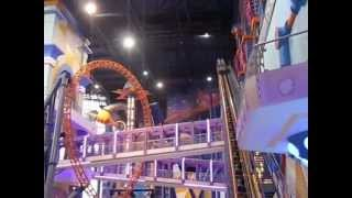 Times Square indoor roller coaster Kuala Lumpur Malaysia things to do