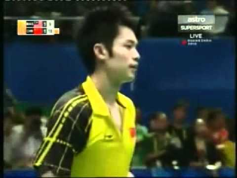 (Amazing Game) 2010 Asian Games Badminton Final-Lin Dan vs Lee Chong Wei