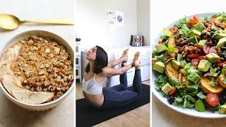 What I Eat In a Day For a Healthy Body (Vegan) width=