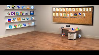 getlinkyoutube.com-اجعل سطح المكتب عندك جميل 3D ومنظم