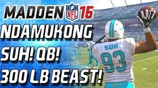getlinkyoutube.com-300 POUND QUATERBACK! NDAMUKONG SUH! - Madden 16 Ultimate Team