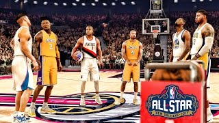 getlinkyoutube.com-All Star Weekend 3 Point Contest | 2k IS SO BROKEN LOL Vs Durant Justice PG13 | NBA 2k17 MyCareer