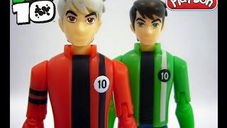 getlinkyoutube.com-Play Doh Surprise Ben 10 Toys