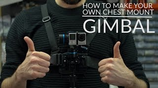 getlinkyoutube.com-Attaching Feiyu G4 Gimbal to GoPro chest mount