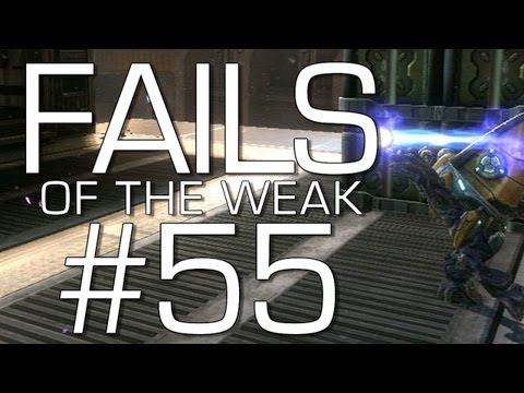 Halo: Reach - Fails of the Weak Volume 55 (Funny Halo Bloopers and Kabooms)