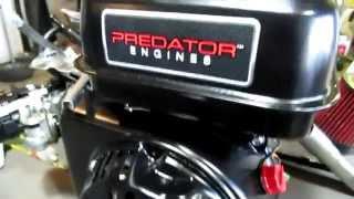 T-mans Go Karts Modified 212 cc Predator Engine