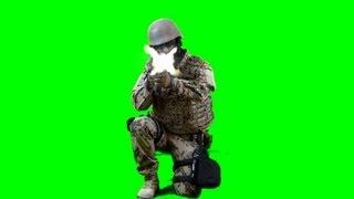 getlinkyoutube.com-soldier shoots with assault rifle - real Battlefield green screen footage 4