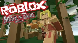 getlinkyoutube.com-Roblox: Attack on Titan