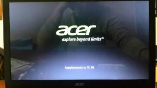 getlinkyoutube.com-Notebook Acer Aspire | Restaurar  sistema operativo al estado de fabrica