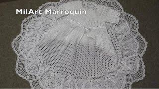 Vestido para Niña Lluvia de Abanicos parte 1 de 2