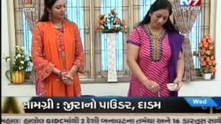 getlinkyoutube.com-Tv 9 rasoi show on 27/11/2013 of Hina Chokshi