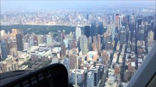 getlinkyoutube.com-HELICOPTER RIDE in NEW YORK CITY ( NYC ) - 15 minutes - start to finish