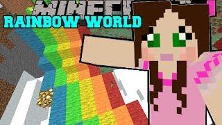 getlinkyoutube.com-Minecraft: WORLD OF RAINBOWS! - Christmas Trolling - Custom Map [4]