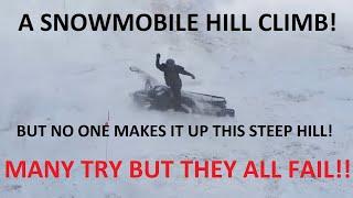 getlinkyoutube.com-EPIC SNOWMOBILE HILL CLIMB FAILS