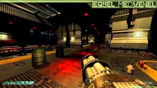 getlinkyoutube.com-Classic Doom (DOOM3) - mod walkthrough
