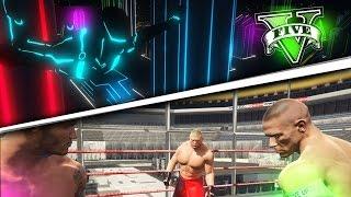 GTA V PC MODS - EL UNIVERSO DE LA WWE Y TRON !! WTF JOHN CENA EN GTA - ElChurches