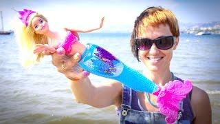 getlinkyoutube.com-Барби. Видео для девочек. Русалка мечтает стать принцессой.