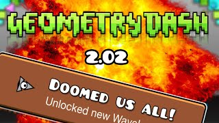 getlinkyoutube.com-GEOMETRY DASH 2.02 PARA ANDROID! - ICONOS, WAVES.. THE VAULT! - Bycraftxx