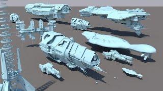 getlinkyoutube.com-Starships size comparison (Halo)