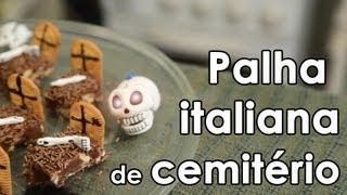 getlinkyoutube.com-Receita de palha italiana de cemitério - How to make Brazilian fudge