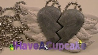 getlinkyoutube.com-Best Friends Winged Heart Necklace