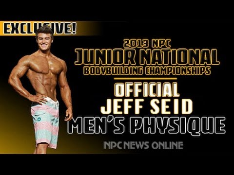IFBB Pro Jeff Seid After Winning the 2013 NPC Junior Nationals