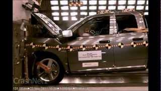 getlinkyoutube.com-Dodge Ram 1500 Quad Cab | 2012 | Frontal Crash Test | High Speed Camera | NHTSA | Full Length HD