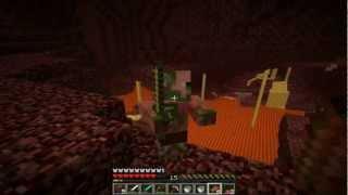"""getlinkyoutube.com-Minecraft - Episodio 11-""""Nether debe MORIR""""Como un MOAB"""