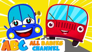 getlinkyoutube.com-Wheels On The Bus | Nursery Rhymes | 100 Minutes Compilation | All Babies Channel