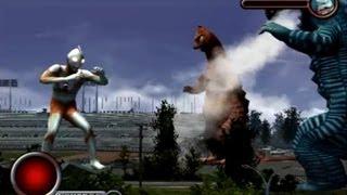Ultraman PS2 (Story Mode Part 7) Ultraman vs Banila & Aboras