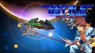 Gradius tylpe game Gstyle  ALL Play   Old Version  グラディウス風ゲームGSTYLEオールプレイ   オールドバージョン