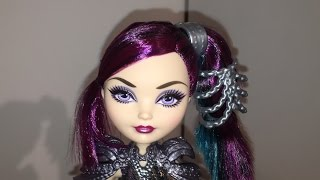 getlinkyoutube.com-DRAGON GAMES RAVEN QUEEN DOLL REVIEW [EVER AFTER HIGH]
