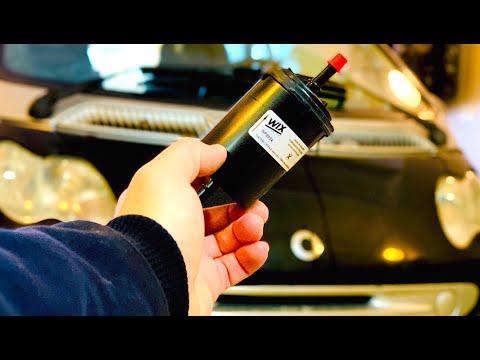 Замена топливного фильтра Smart ForTwo. Как заменить топливныи фильтр Смарт 450