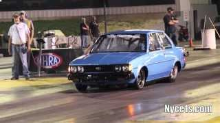 getlinkyoutube.com-Nyce1s - Big Boy Racing's 2JZ Powered Toyota Corolla @ Englishtown!!