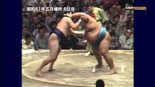 getlinkyoutube.com-北尾vs小錦 (昭和61年五月場所)