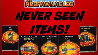 getlinkyoutube.com-Never Seen Items? March'15 | Respawnables | Respawnables Leaks